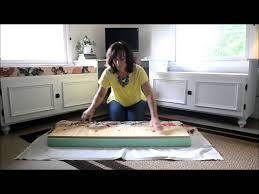 How To Make Seat Cushions For Dining Room Chairs No Sew Bay Window Seat Cushion I M Wondering If This Is Something