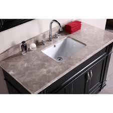 48 Single Sink Bathroom Vanity by Design Element Dec059b Hudson 48 Inch Single Sink Bathroom Vanity Set