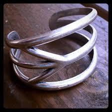 bracelet lucky you images Lucky you jewelry silver peace sign bangle bracelet poshmark jpg