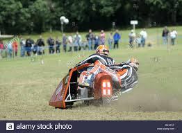 sidecar motocross racing sidecar grasstrack racing stock photo royalty free image
