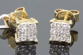 real gold earrings real diamond stud earrings with exclusive designs online