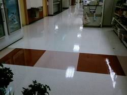 floor and wax high end cleaning maintenance