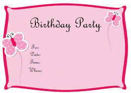 free ideas birthday card invitation template best designing layout