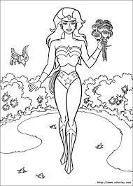 Wonder Woman 77 Superhéros  Coloriages à imprimer
