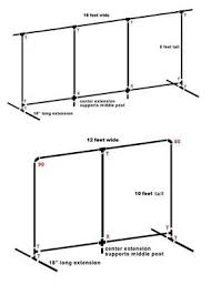 wedding backdrop measurements pvc pipe backdrop weddings do it yourself wedding forums
