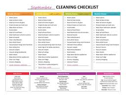 printable house cleaning schedule cleaning checklist best weekly cleaning checklist ideas on