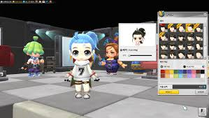 all the new haircuts for male and female characters maplestory2