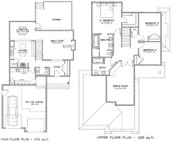 2 Story House Plans 100 1 Storey Floor Plan European Style House Plan 3 Beds 2