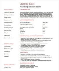 product marketing engineer resume marketing resume samples for