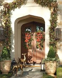 Outdoor Entry Christmas Decor by 384 Best Elegant Holiday Entries Images On Pinterest Christmas