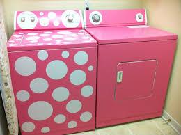 Colored Washing Machines Pink Polka Dot Washing Machine Okay If I Paint My Laundry Machine
