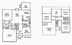 open floor plans for homes 4 bedroom 3 bath floor plans awesome 50 beautiful 4 bedroom open