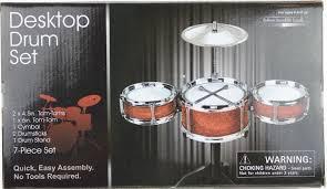 amazon com westminster desktop drum set random color musical