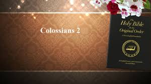 Bible Study Invitation Cards Colossians 2 Youth Bible Study Youtube