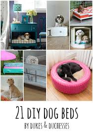 Diy Dog Bed 21 Diy Dog Beds Dukes And Duchesses