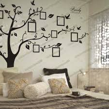 huge family tree photo frame birds wall stickers home decor living shop categories home removable transparent stickers wall