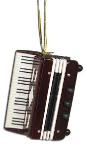 miniature accordion ornament 2 75 home