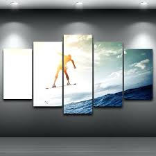 wall ideas bedroom wall decor vintage surf wall art surfer wall