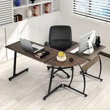 Desk L Shape Greenforest Office Desk L Shape Corner Computer Pc Table