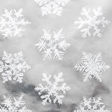 silver foil snowflakes roll wrap paper wraps and