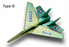 3d paper model airplanes print outs f 15 eagle paper airplane folding instructions