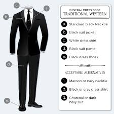 the appropriate dress code for a funeral bows n ties com