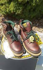 s boots size 9 1 2 flat 0 to 1 2 in leather work safety boots for ebay