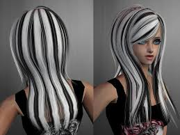 gray hair streaked bith black list of synonyms and antonyms of the word streaked