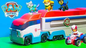 paw patrol nickelodeon paw patroller paw patrol funny video toys
