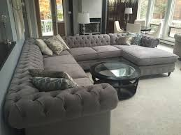 Custom Chesterfield Sofa Kenzie Style Chesterfield Custom Sectional Sofas Family Room