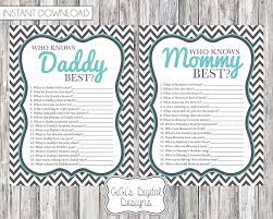 who knows best baby shower baby shower who knows best gray teal