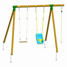balancoire siege bebe balançoire mauna avec siège bébé 213 85 la jardinerie