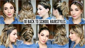 heatless hairstyles 10 back to school heatless hairstyles hairstylesforall com