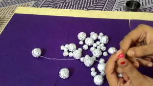 Designs Of Wall Hanging With C D Wall Hanging Using Aluminium Foil Diy Wall Hanging Youtube