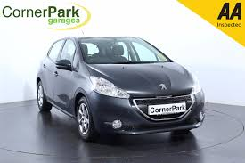 peugeot 208 2016 used peugeot 208 grey for sale motors co uk