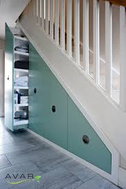 shoe storage under the stairs from avar furniture home decor
