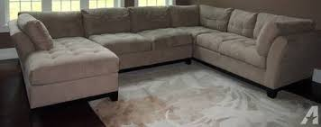 cindy crawford sectional sofa sectional sofa couch 3 piece microfiber for sale in greenland