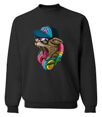 dj cat sweater cat sweater digitally printed sweater just cool