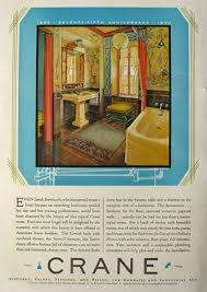 Crane Bathroom Fixtures 1930 Design Style 1930 Crane Bathroom Fixtures Ad Japanese