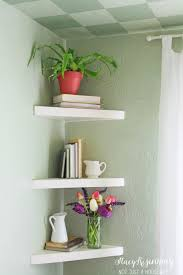 Corner Bookcase Ideas Decorating Angled Corner Shelves Modern Wall Bedroom Ideas For