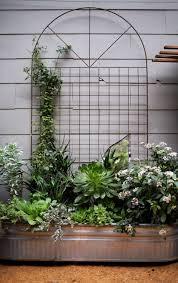 planter box with trellis u2013 interesting exterior solutions hum ideas