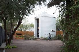 silo house plans 190 square foot grain silo tiny home