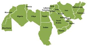 Sudan On World Map by 슬라이드 1