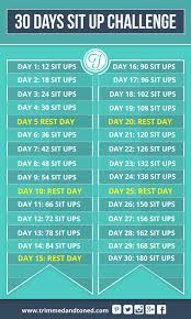 weight loss workouts sit up challenge sit up and 30 day