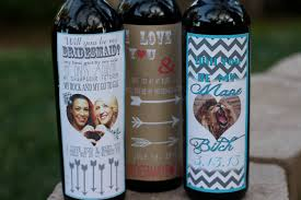 will you be my bridesmaid wine labels 5 diy ways to ask will you be my bridesmaid