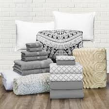 Gray Twin Xl Comforter Erin Andrews Essential Bedding Collection Twin Xl Bedding And