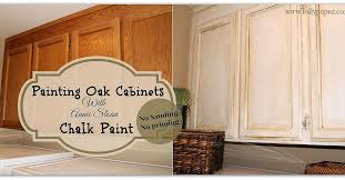 Classy  How To Paint Oak Kitchen Cabinets White Design - White chalk paint kitchen cabinets