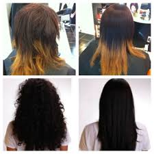 keratin treatment on black hair before and after brazilian blowout at hypnotic salon