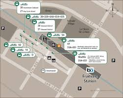 Bart Line Map by Bus Stop Changes At Fruitvale And Coliseum Stations Ac Transit