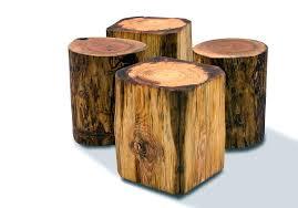 Tree Stump Side Table Tree Side Table Nurseries Tree S Side Table Brings Nature Fragment